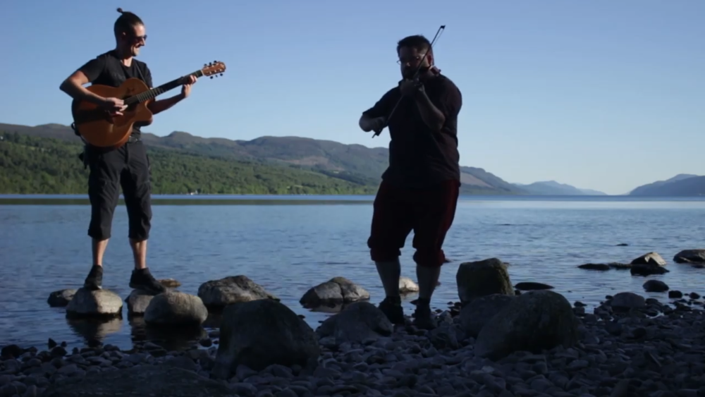 Alan Kells – Jigs & Reels on Loch Ness